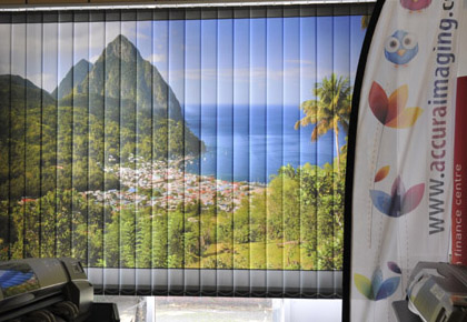 Accura Imagin Printed Vertical Blindsg Printers In Milton Keynes